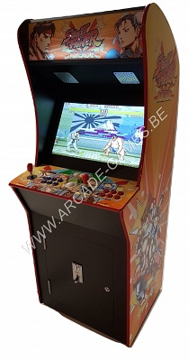 "A-G 26 LCD arcade met 3500 GAMES ""STREET FIGHTER"""