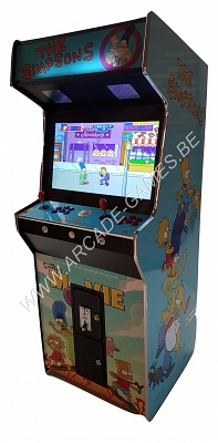 "A-G 26 LCD arcade met 3500 GAMES ""THE SIMPSONS"""