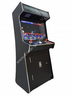 "A-G 32 LCD arcade met 3500 GAMES SLIM CASE ""BLACK"""