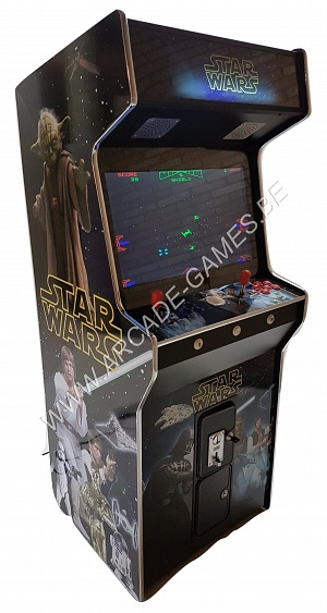 "A-G 26 LCD arcade met 3500 GAMES ""STAR WARS"""