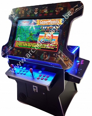 "A-G 27""LCD arcade met 3500 GAMES ""LIFT UP COCKTAIL TABLE"""
